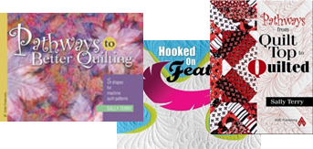Free Motion Machine Quilting Books by Sally Terry Professional Machine Quilter and Classes Published by AQS