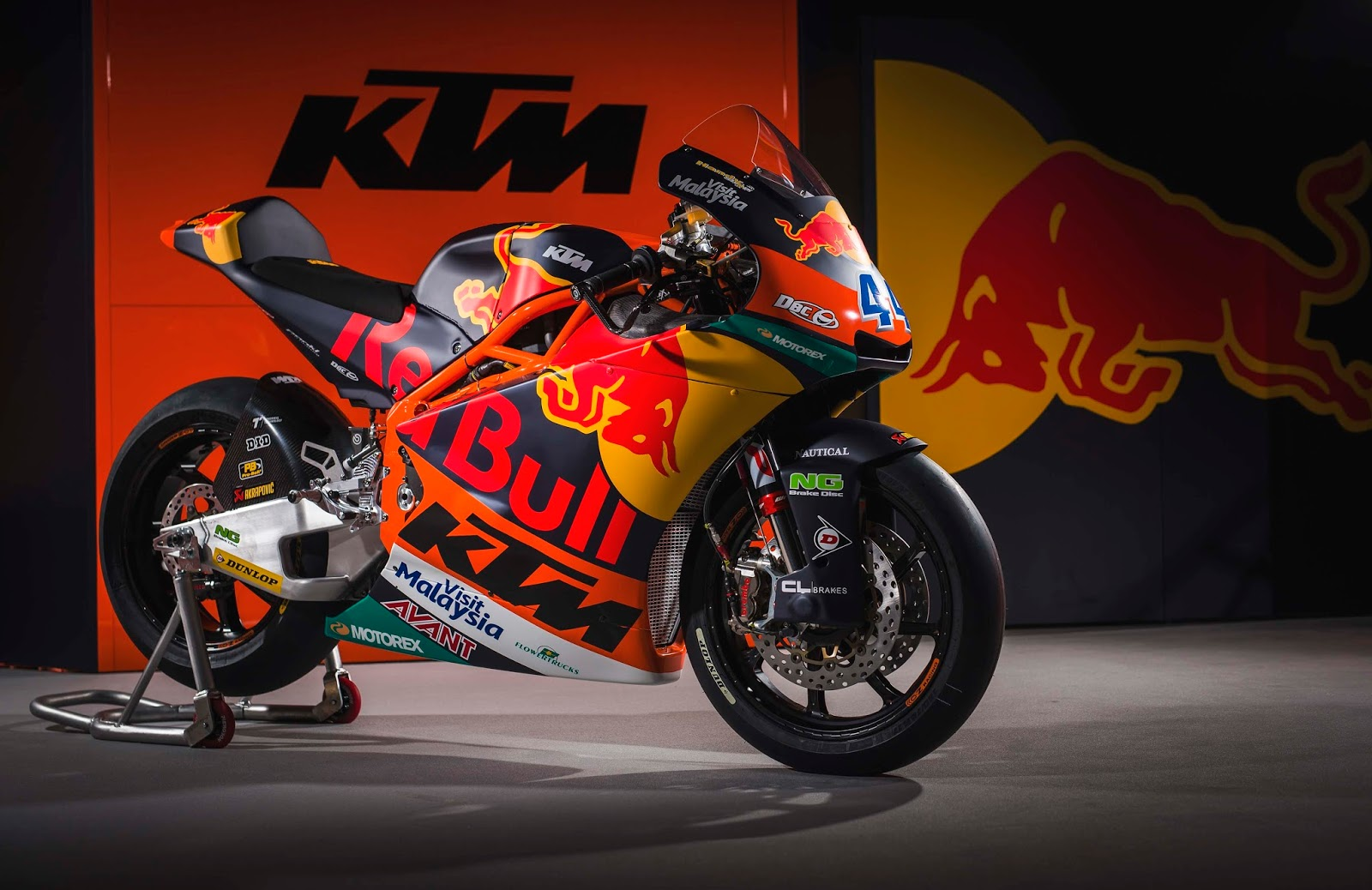 Racing Caf 232 Ktm Moto2 Red Bull Ktm Team 2017