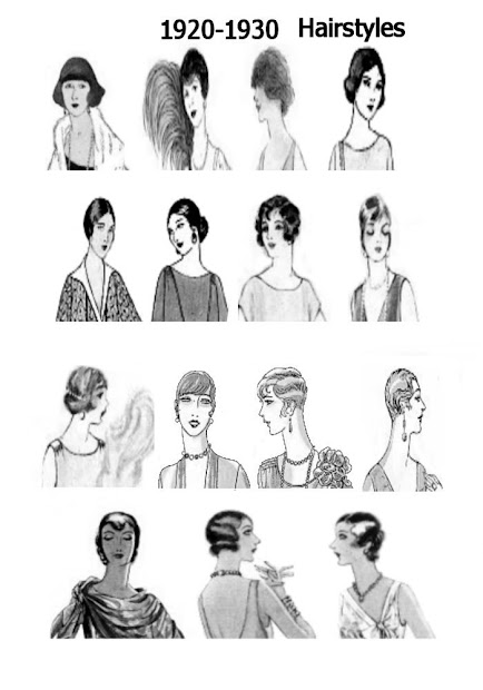 ponytail hairstyles 2012 1920's