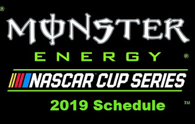 Monster Energy NASCAR Cup Series 2019 schedule, dates, kick offs time, Live TV.