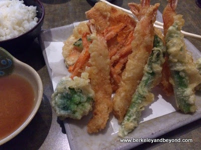 shrimp tempura at Sakana Japanese Sushi Bar & Grill in San Francisco