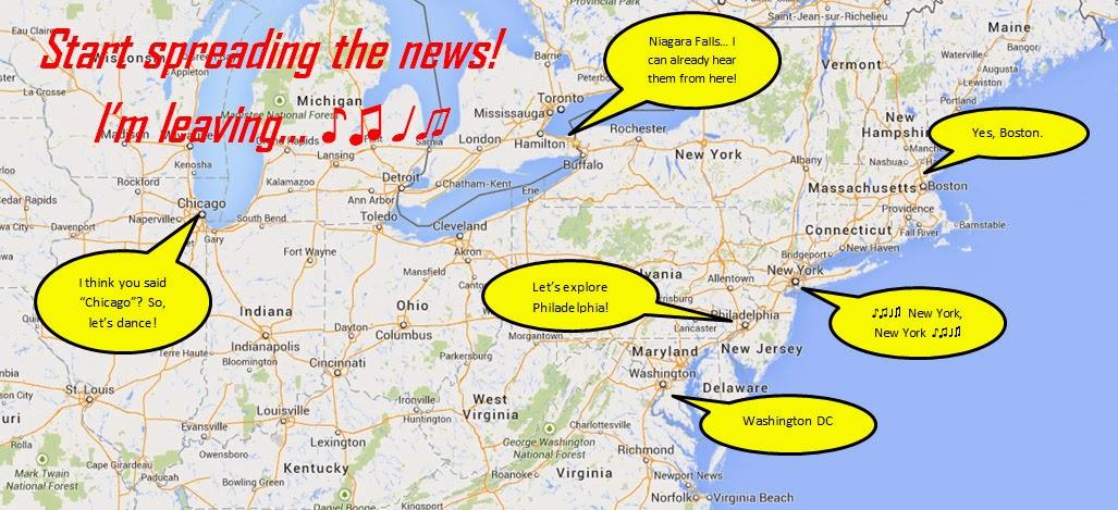 O nosso ROTEIRO DE VIAGEM pelo nordeste dos EUA | Prepare a sua viagem de 12 dias