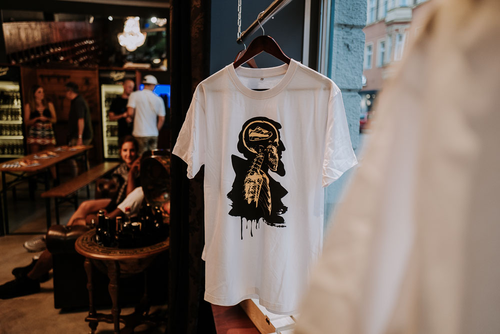 Paulaner Zwickl & The Upper Club T-Shirt Release Party   Atomlabor Blog on Tour