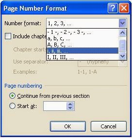 Cara Membuat Page Number Romawi Pada Ms.Office Word