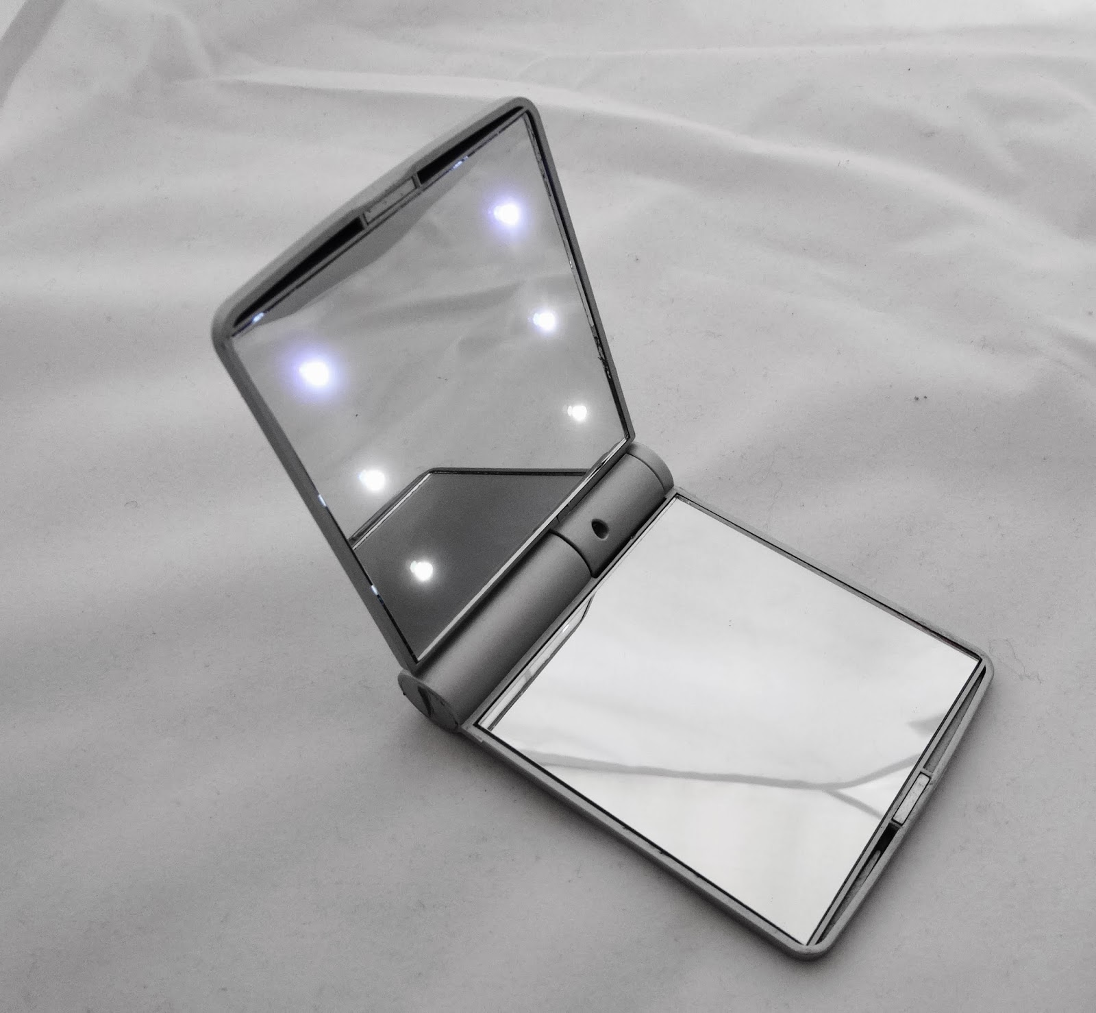 Pebble Grey LED Cosmetic Mirror