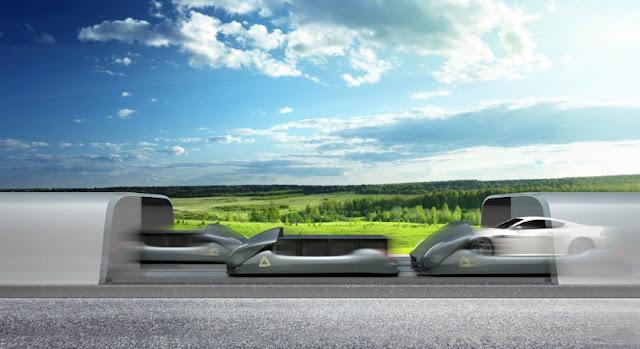 Arrivo построит hyperloop через Denver