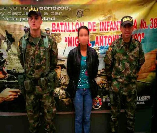 Por varios delitos, el Ejército logró 9 capturas en Cundinamarca