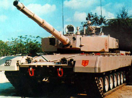 Tank buatan India