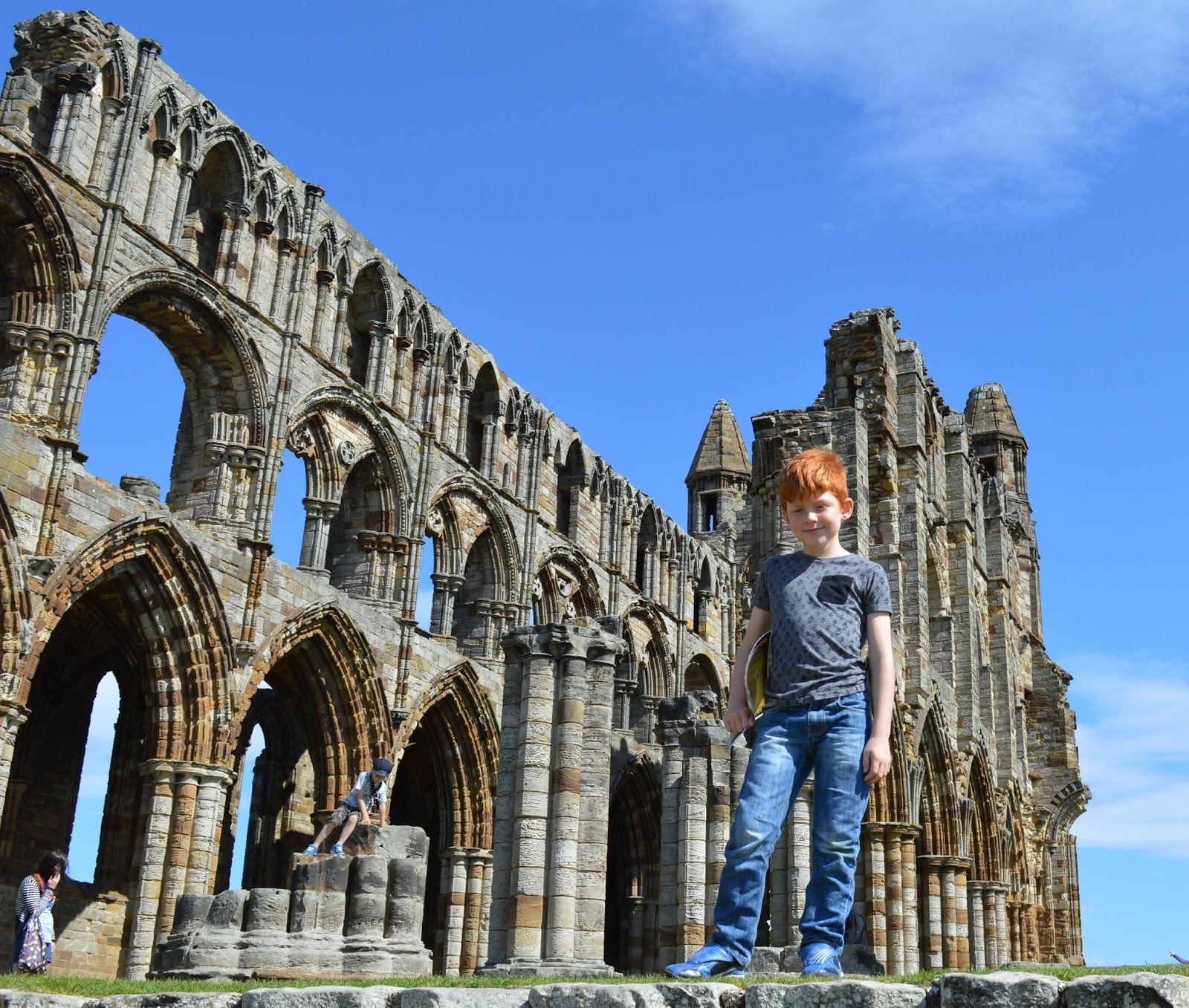 You only have one life - make sure you live it - Whitby Abbey
