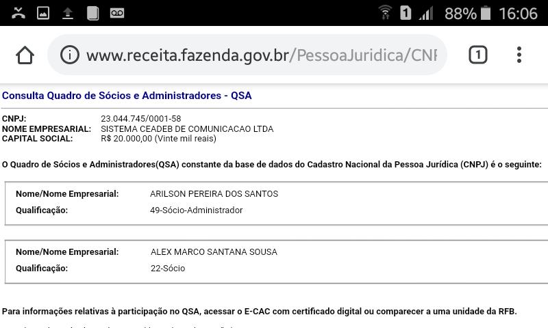784bcd557 ... Ceadeb de Comunicação LTDA - ME, com endereço na Rua: Arquimedes  Gonçalves Número: 320 Bairro: Nazaré - Município: Salvador, ou seja na sede  da CEADEB.