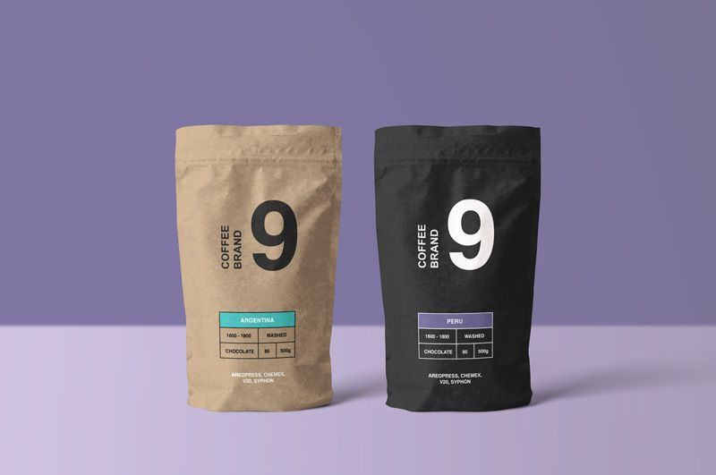 50 Best Coffee Package Mockup Templates Graphic Design Resources
