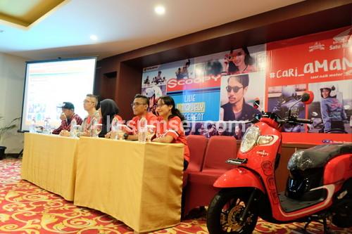 All New Honda Scoopy Siap Gebrak Pasar Motor Matik di Sumsel