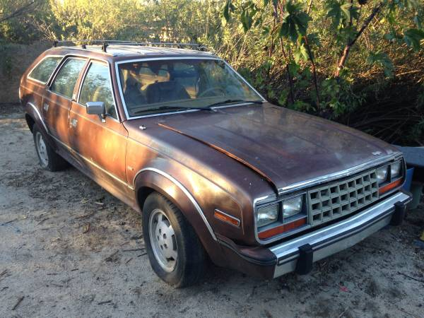 Complete Project, AMC Eagle 4x4 Wagon
