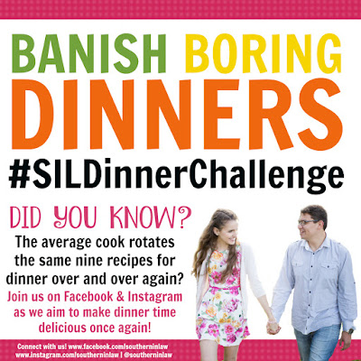 Banish Boring Dinners the Southern In Law Dinner Challenge