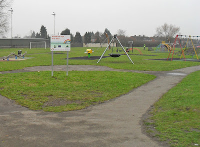 Woodbine Park, Brigg - built on the site of the former prefab housing estate - picture on Nigel Fisher's Brigg Blog
