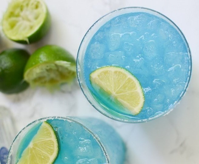 Blue Margaritas #summer #drink