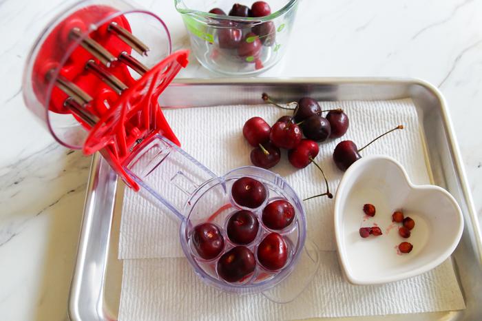 6 cherry pitter