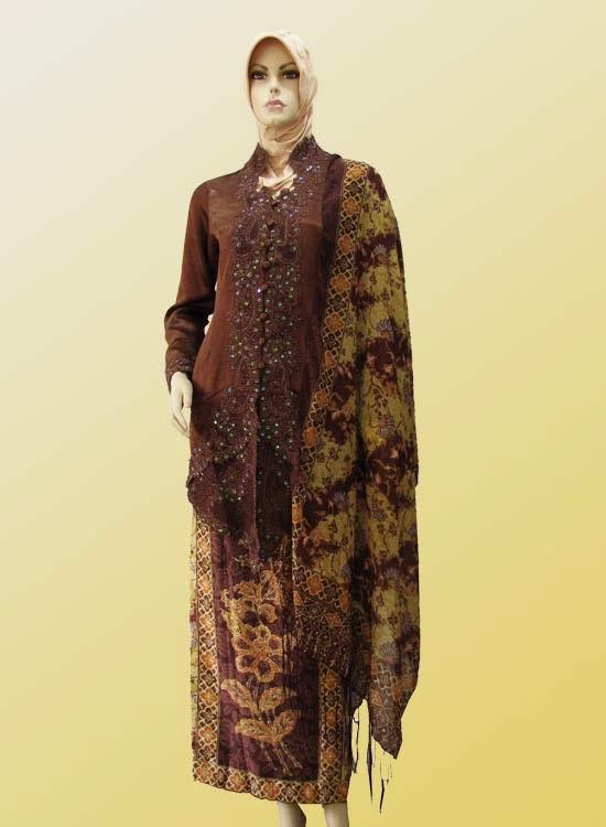 Contoh Baju Baju Muslim Kebaya 2017