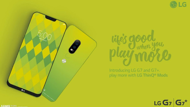 LG G7 Specifications and Renders Leaked Online