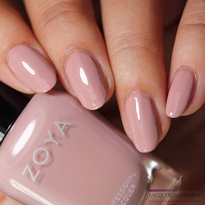 Nail polish swatch of Rue from the Zoya Bridal Bliss collection
