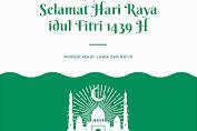 Dinas PMD Kab. Kep. Selayar Sampaikan Salam Idul Fitri 1439 H