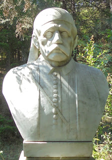προτομή του Θεόδωρου Ζιάκα στο Μουσείο Μακεδονικού Αγώνα του Μπούρινου