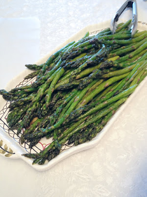 Simply Grilled Asparagus
