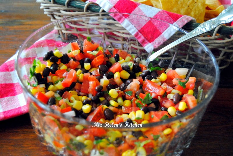 Two Way Mexican Salad at Miz Helen's Country Cottage