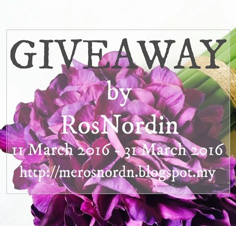 GIVEAWAY by RosNordin