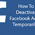 How to Facebook Id Deactivate