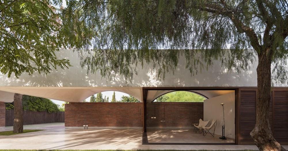 By zonarquitec casa iv campo de elche espa a arquitectura - Casas de campo en elche de bancos ...