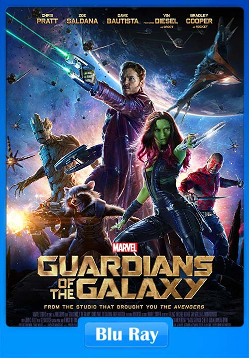 Guardians Of The Galaxy 2014 720p BluRay Dual Audio | 480p 300MB | 100MB HEVC