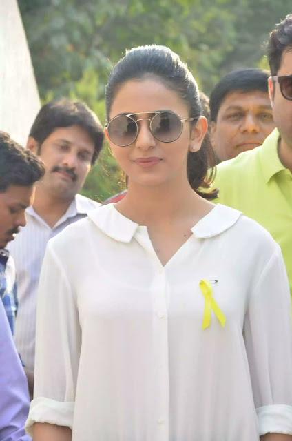 Rakul Preet Singh at Apollo Endometriosis awareness walk