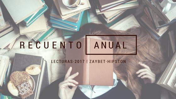 [RECUENTO ANUAL] Libros 2017