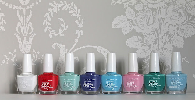 Maybelline Superstay Forever Strong Nail Polishes