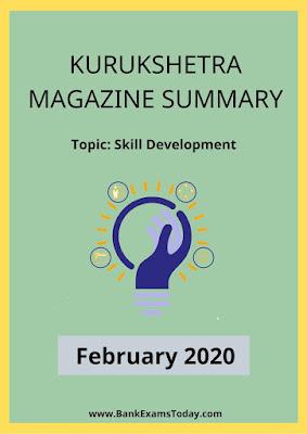 Kurukshetra Magazine Summary: February 2020