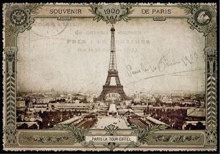 Эйфелева башня, Париж, 1900