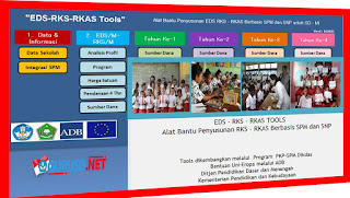 Aplikasi Pembuat atau Penyusun EDS ke RKS dan RKAS Buatan SPM Dikdas Kemdikbud
