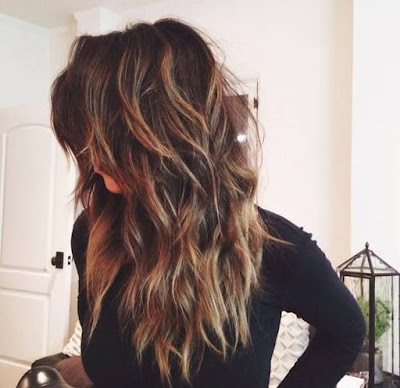 Beautiful Long Wavy Hairstyle for Thick Long Hair