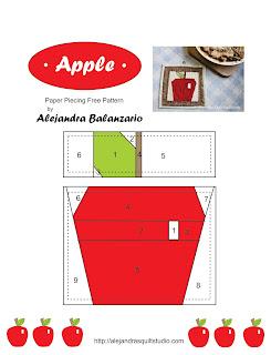 """Pie de manzana y un """"No te quemes"""" de manzana"""