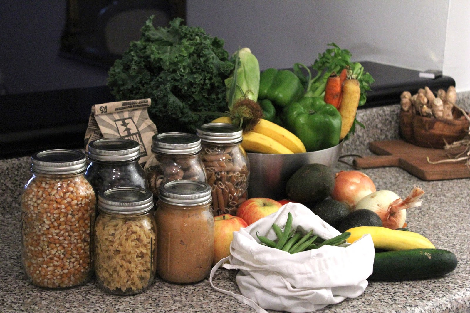 Zero Waste Food Shopping Trash Is For Tossers