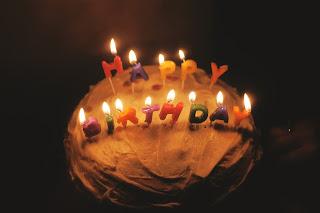 Stephanie McCabe cake celebration