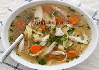 Peluang Bisnis Usaha Sup Ayam Dengan Analisa Lengkap