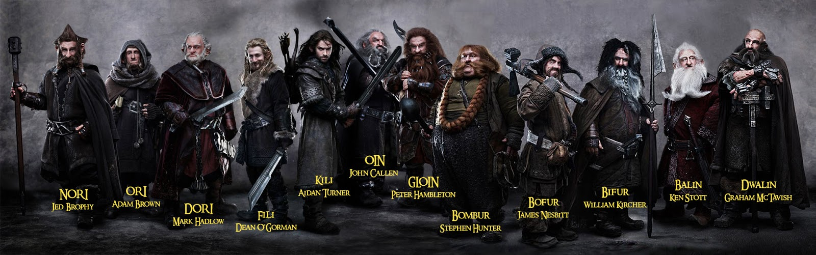 the dwarves of the hobbit the hobbit features a band of dwarves led by ...