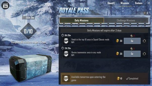 Pubg Mobile Sezon 13 Royale Pass RP nasıl artırılır?