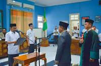 Walikota Lantik H. Ahmad Sebagai Kepala DPPPA Kota Bima