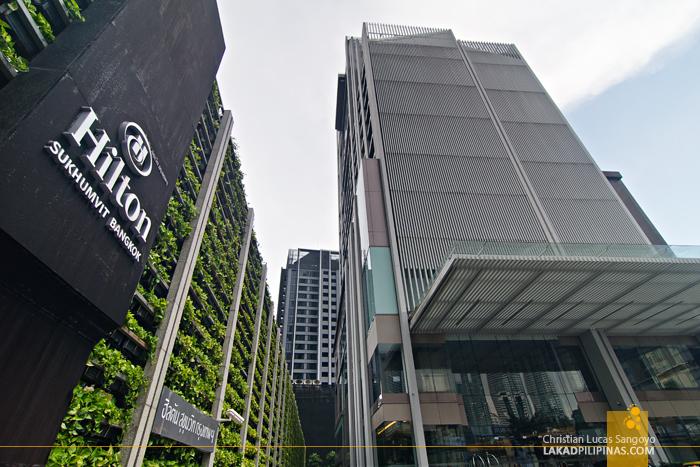 Hilton Sukhumvit Bangkok Facade