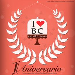 Primer Aniversarios http://ilovebundtcakes.blogspot.com