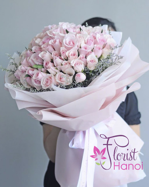 Love bouquet for delivery in Hanoi
