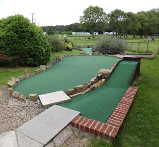 Crazy Golf course at York Golf Range